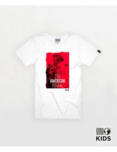 Tee Shirt AMERICAN DREAM kid 501 white