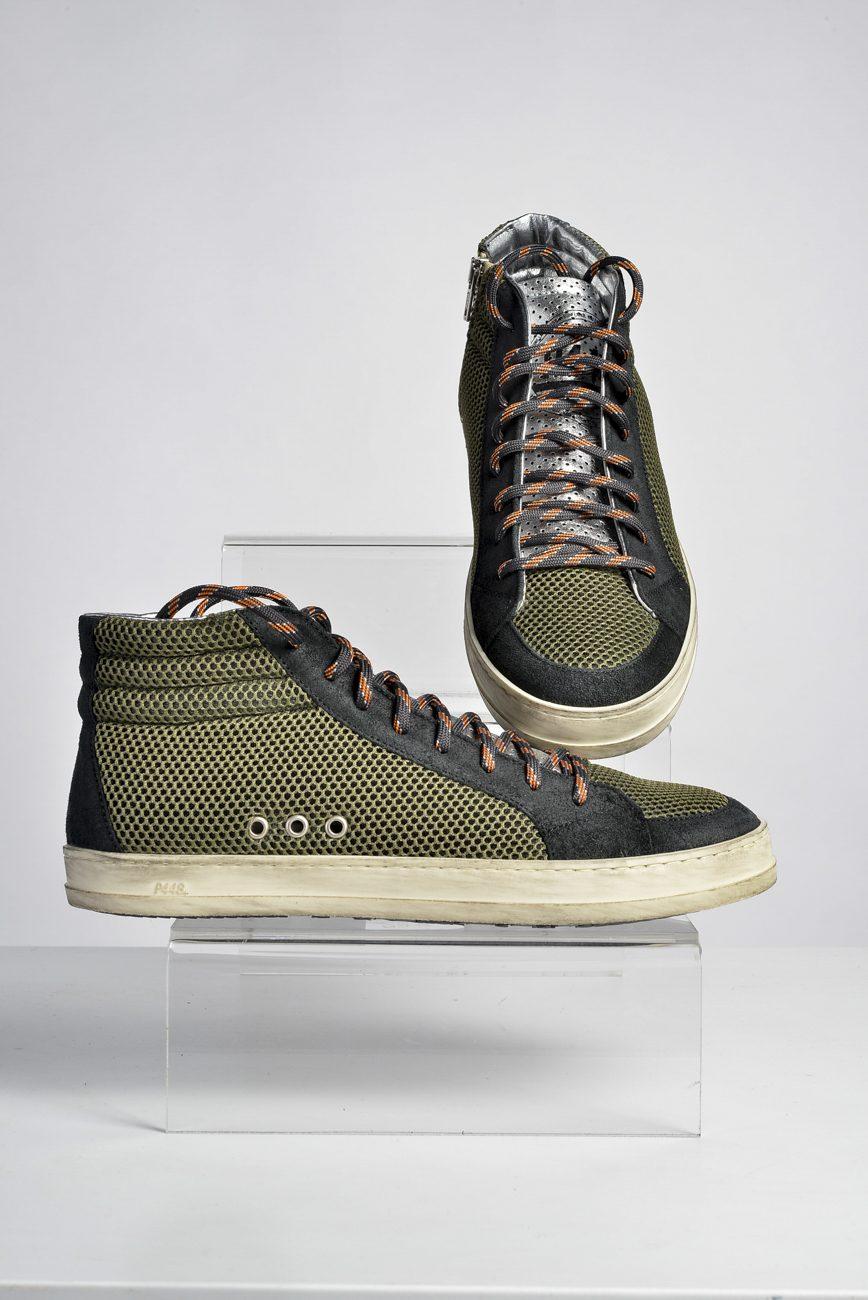 Sneaker Skate Green Tec